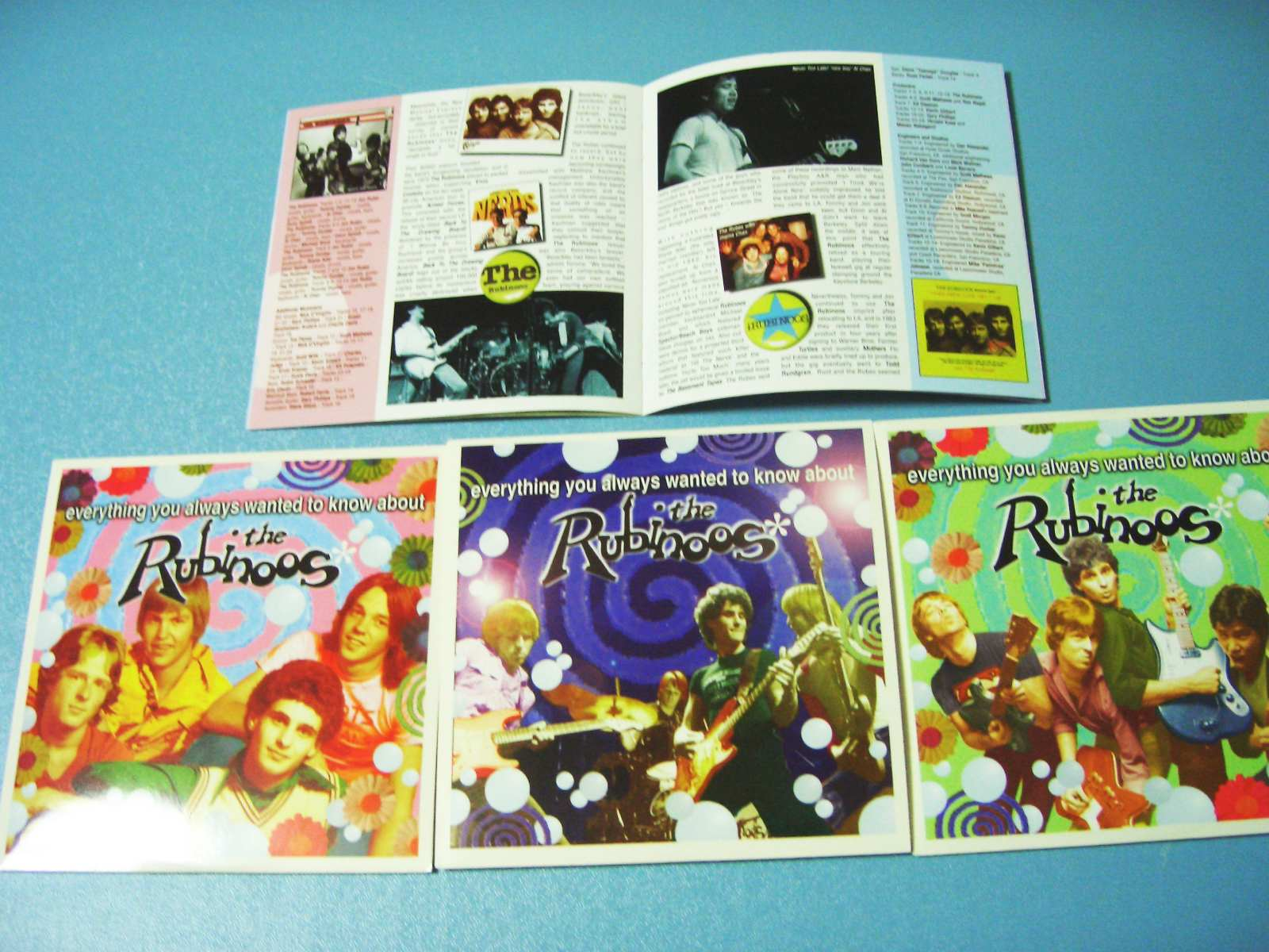 Rubinoos / Everything You Ever Wanted To Know About_c0062649_2110844.jpg