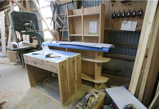 飯能の家18:造付け家具の製作2_e0054299_17185555.jpg