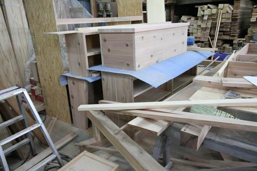 飯能の家18:造付け家具の製作2_e0054299_1719870.jpg