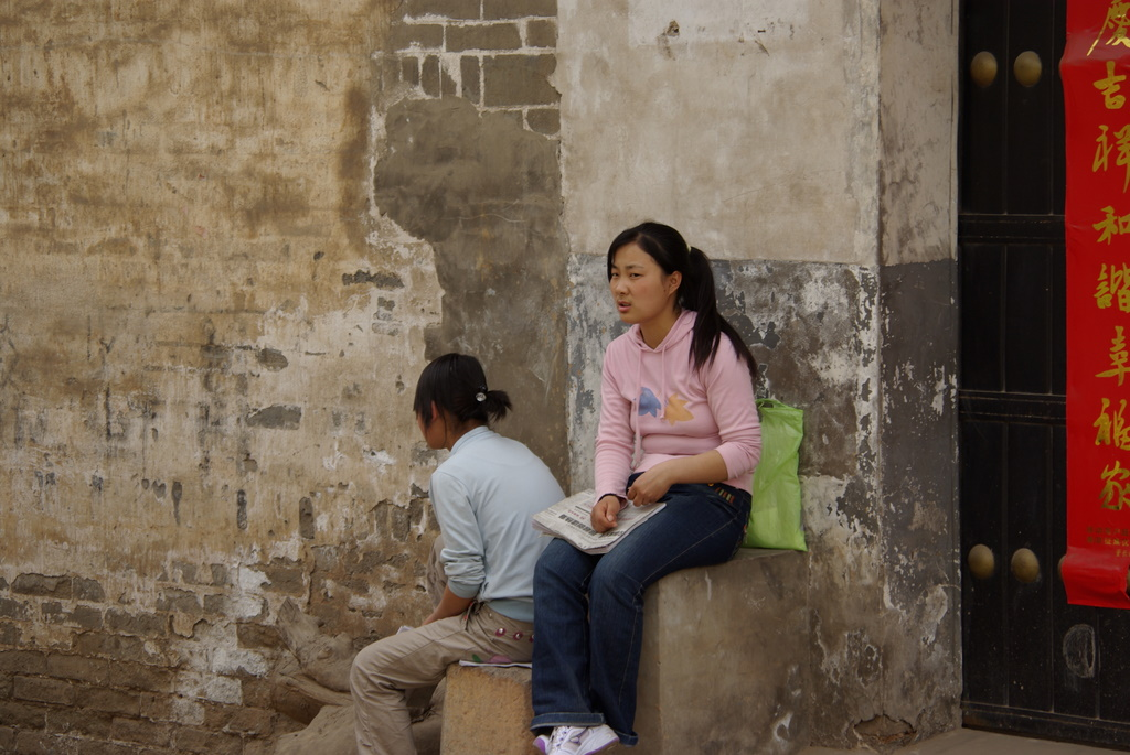 中国陝西省党家村(人編)_e0108787_2046402.jpg