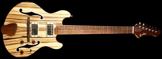 Zebra Woodの小振りな箱Guitar_e0053731_19103667.jpg