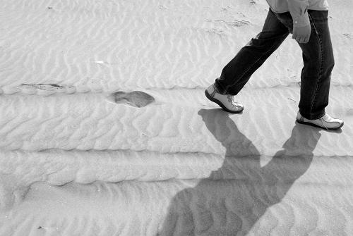 海砂を歩いて_d0081890_1152376.jpg