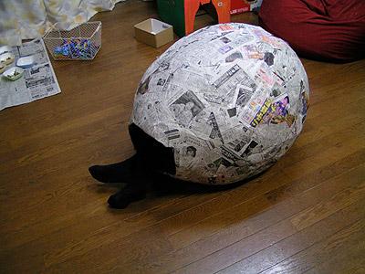 うちの猫らと「ち」の変な作品展無事終了!_a0028451_4233328.jpg