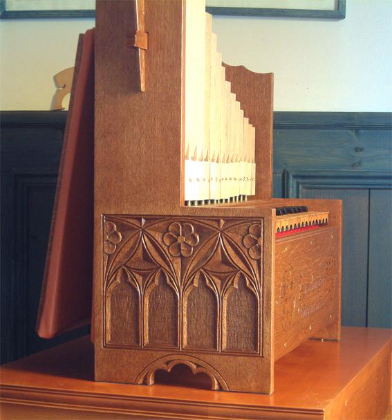 ポルタティーフ・オルガン製作記 Making Portative Organ No.13_e0064847_14451828.jpg
