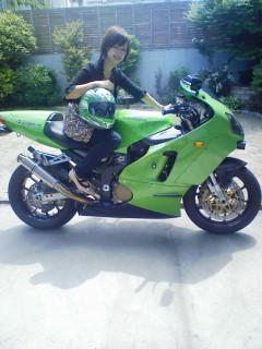 父のバイク☆_d0122950_12103423.jpg