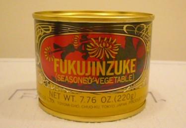 缶に入った福神漬けは馴染みが無いので変な感じがします。開けてみると色は真... ハワイで夢を叶え