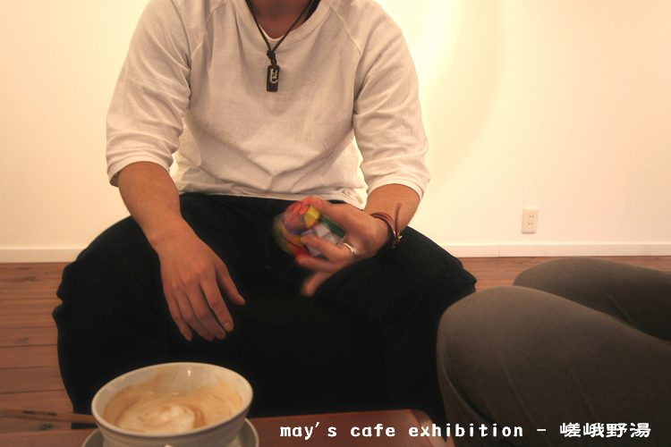 may\'s cafe exhibition −  嵯峨野湯_a0044279_2317334.jpg