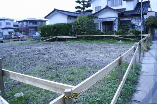Q1泉の家 06:地盤改良工事後_e0054299_2258535.jpg