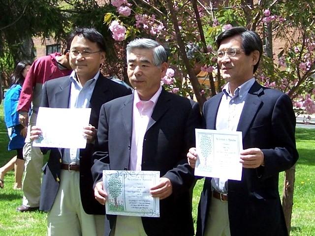 早稲田大学125周年記念植樹@さくら祭り 平成19年5月6日_b0103758_19281264.jpg