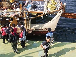 5月7日15時40分、〈ホクレア号〉野母崎に到着!_c0090571_23141597.jpg