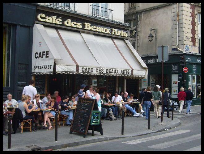 ■街角のキャフェCAFE DES BEAUX ARTS(パリ)_a0014299_6172674.jpg