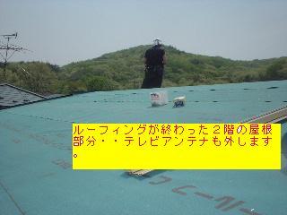 屋根改修工事2日目_f0031037_20405446.jpg