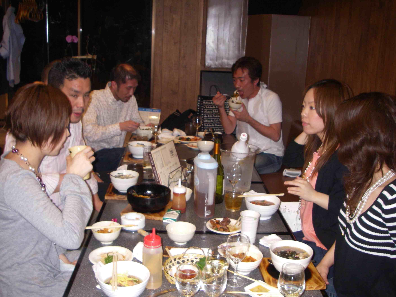 ゴールデンウィーク焼き肉で歓迎会_b0076863_23272678.jpg