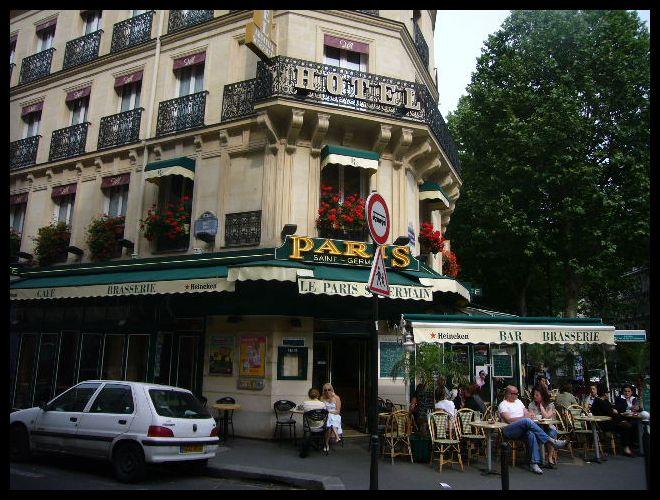 ■街角のキャフェLE PARIS ST GERMAIN(パリ)_a0014299_985310.jpg