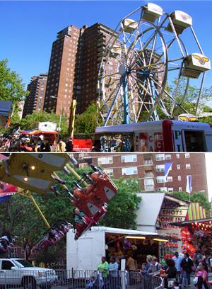 マンハッタンの隠れイベント、移動遊園地の見つけ方_b0007805_20205091.jpg