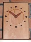 初めての木 「カエデ時計」_a0097817_1783722.jpg