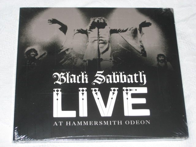 BLACK SABBATH / LIVE AT HAMMERSMITH ODEON_b0042308_20561774.jpg