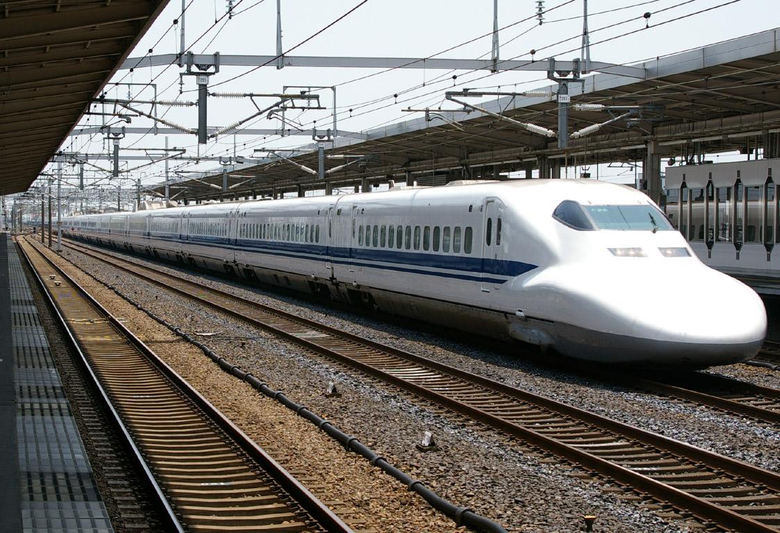 岐阜羽島駅で新幹線撮影(N700系...
