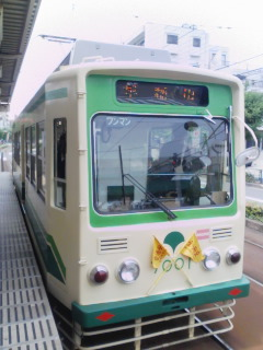 路面電車~。_c0069859_20223475.jpg