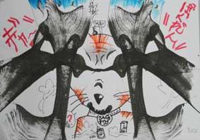 ストリングデザイン(糸引き絵)・・子どもアトリエ_c0100195_11453191.jpg