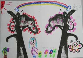 ストリングデザイン(糸引き絵)・・子どもアトリエ_c0100195_11471981.jpg