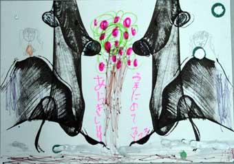 ストリングデザイン(糸引き絵)・・子どもアトリエ_c0100195_11565821.jpg