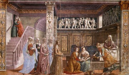 教会内部~フィレンツェ、サンタ・マリア・ノヴェッラ教会~_f0106597_17251169.jpg