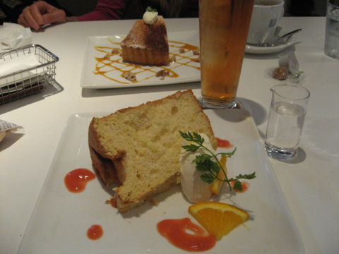 オレンジシフォンケーキ~♪