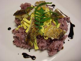 食育スペシャリストの授業用に           鯛の黒米寿司_e0074251_10505766.jpg