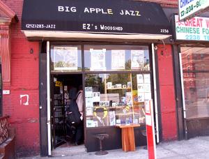 Jazzショップ+ギャラリー+カフェ+ライブ=ビッグ・アップル・ジャズ_b0007805_855399.jpg