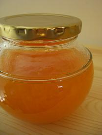confiture de melon au rhum         ラム酒風味のメロンジャム_e0074251_828839.jpg
