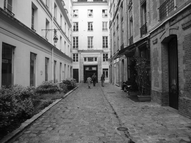 【街角のパッサージュ】Passage Dauphine(パリ)_a0008105_6342756.jpg