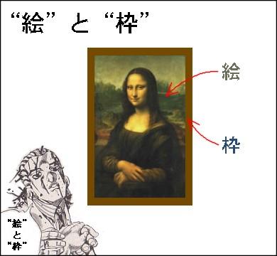 """""""絵""""と""""枠"""""""