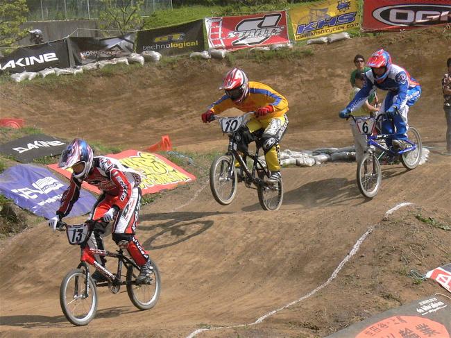 2007緑山JOSF Spring NationalsレースレースVOL4 BMXエキスパートクラス予選〜準決勝画像垂れ流し_b0065730_21162859.jpg