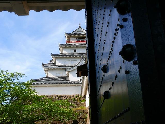 新緑の鶴ヶ城_f0032130_20445339.jpg
