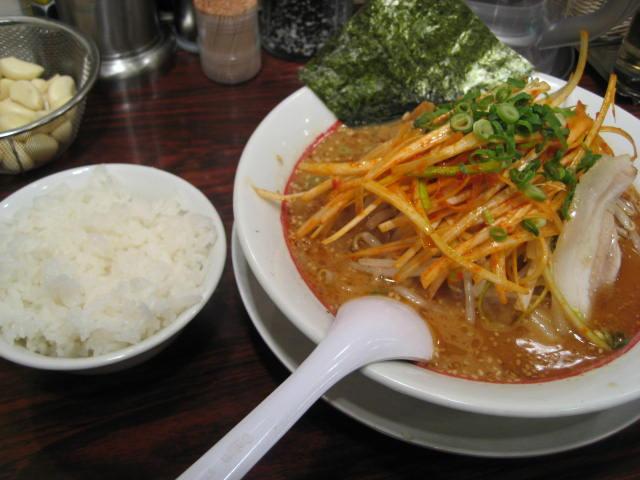 濃厚完熟味噌拉麺ライス専門店味噌屋せいべえ の 辛みそねぎラーメン@新橋_b0042308_01932.jpg