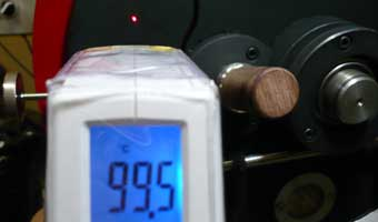 赤外線放射温度計で焙煎機の釜温度測定。_c0020639_1742479.jpg