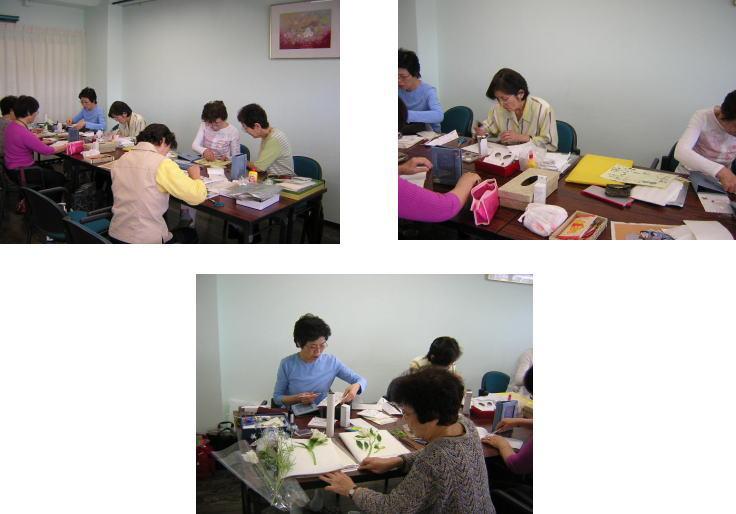 5月23日 ストレッチ&押し花教室_c0113948_16503411.jpg
