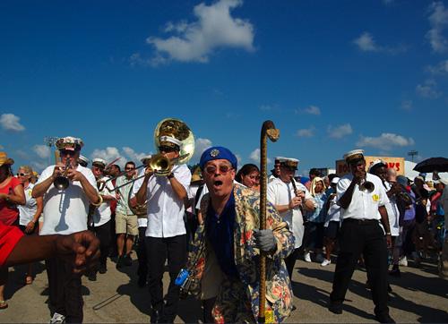 ニューオーリンズの風景 11 : Jazz & Heritage Festival  甲_f0009868_118033.jpg
