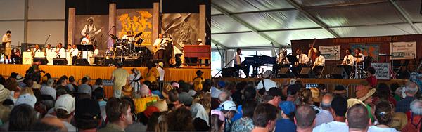 ニューオーリンズの風景 11 : Jazz & Heritage Festival  甲_f0009868_1224582.jpg
