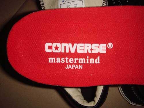 mastermind JAPAN × CONVERSE_f0011179_198326.jpg
