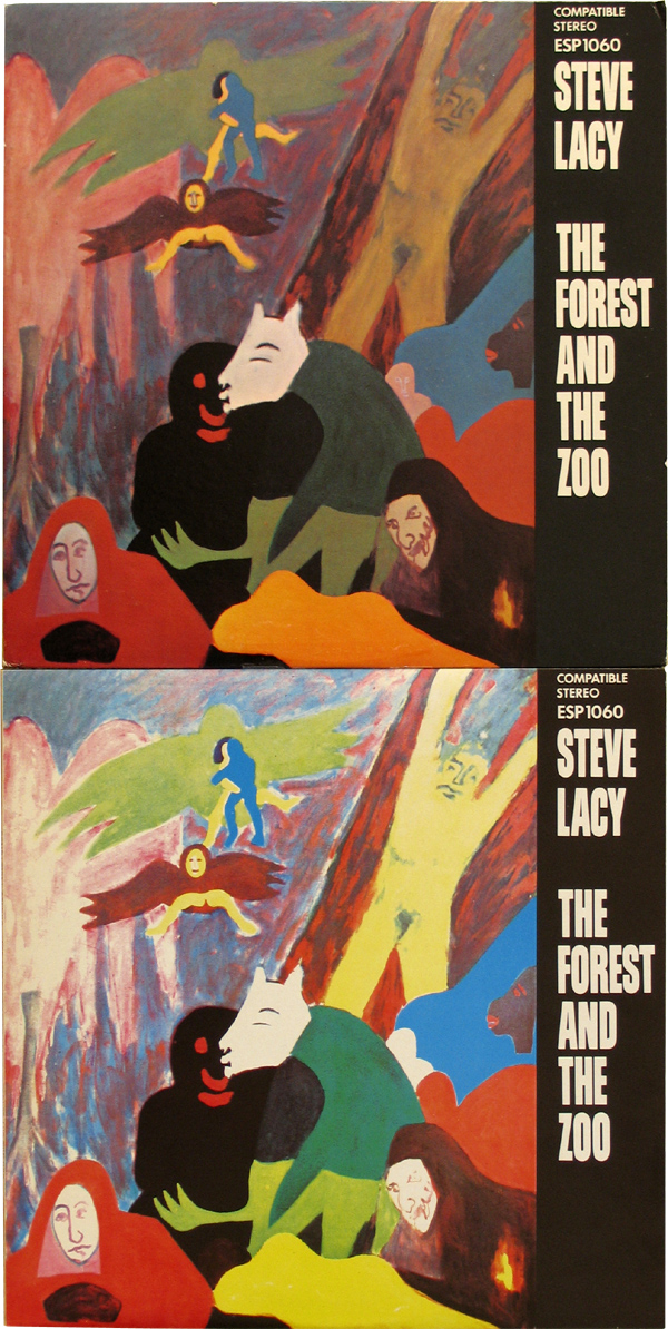 よくあることだけどさあ(STEVE LACY / THE FOREST AND THE ZOO)_d0027243_3292947.jpg