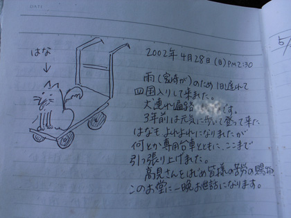 春遍路 第2弾 4月14日 松尾峠をこえて_c0049299_11181178.jpg