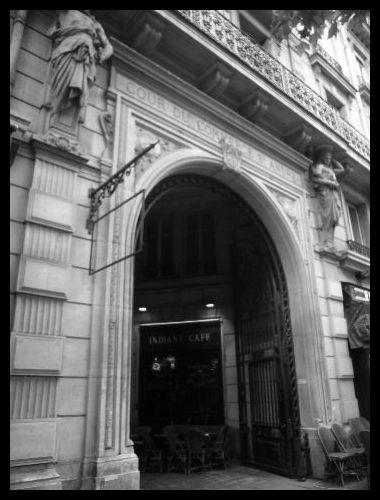【パッサージュ】Cour du Commerce ST ANDRE(パッサージュ)_a0008105_552433.jpg