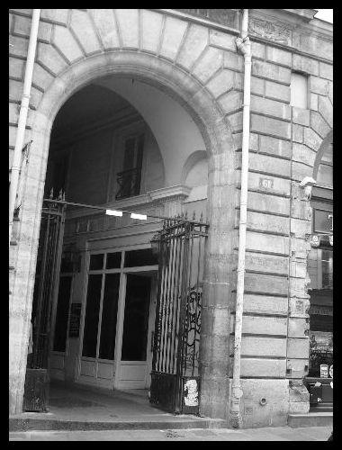 【パッサージュ】Cour du Commerce ST ANDRE(パッサージュ)_a0008105_5525671.jpg