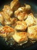 鶏胸肉の照り焼き丼 ポーチドエッグのっけ_c0119259_2125799.jpg