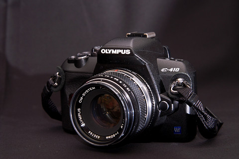 OLYMPUS E-410 : Change The Wor...