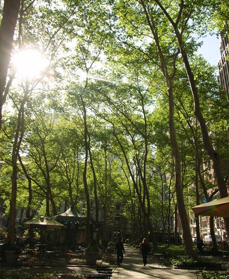 初夏のブライアントパーク Bryant Park_b0007805_22261993.jpg