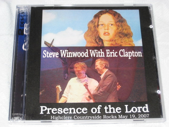 STEVE WINWOOD with ERIC CLAPTON / Presence of the Lord_b0042308_0304461.jpg