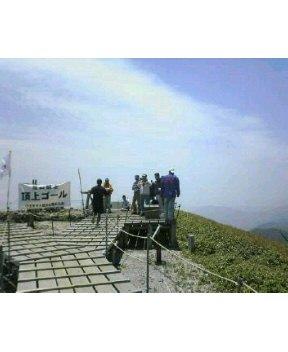 今日は  剣山登山競争でした。_c0089831_16523559.jpg